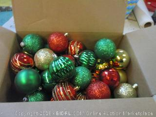 Box Lot Ornaments