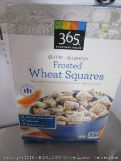 365 Frosted Wheat Squares Cereal