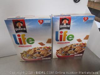 Quaker Life Cinnamon Cereal
