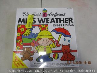 Miss Weather Dress Up Set