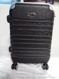 Travel Joy Hard Case Luggage with Neck Pillow