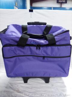 """Luova 19"""" Rolling Sewing Machine Trolley in Purple (online $99)"""