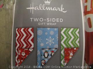 Hallmark Two Sided Gift Wrap