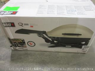 Wever 2000 Outdoor Gas Grill LP