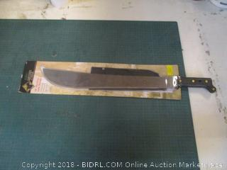 "18"" Machete with Sheath"