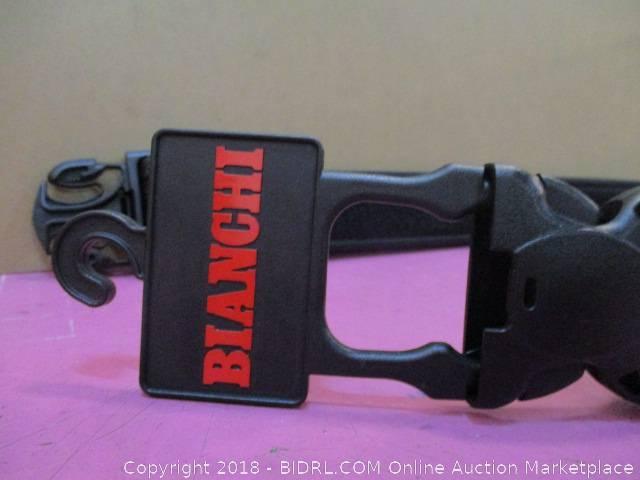 Plain Black Waist Size 40-46in Bianchi 7980 Duty Belt 23387
