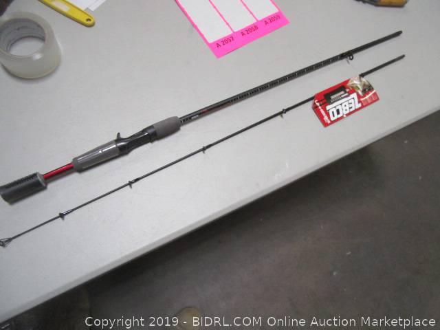 BIDRL COM Online Auction Marketplace - Auction: Fishing Pole Auction