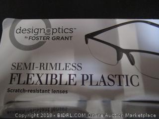DesignOptics by Foster Grant - Reading Glasses +1.75