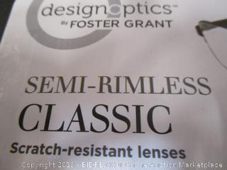 DesignOptics by Foster Grant - Reading Glasses +1.25