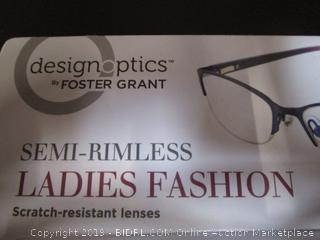 DesignOptics by Foster Grant - Reading Glasses +1.75