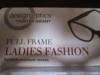 DesignOptics by Foster Grant - Reading Glasses +2.00