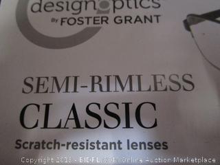 DesignOptics by Foster Grant - Reading Glasses +1.25