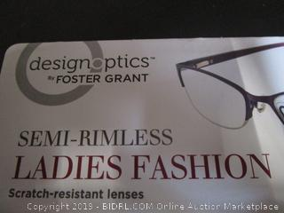 DesignOptics by Foster Grant - Reading Glasses +2.50