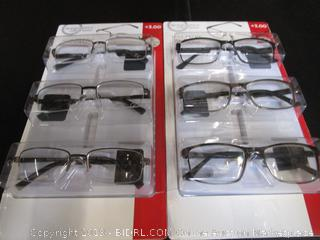 DesignOptics by Foster Grant - Reading Glasses +3.00
