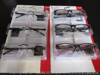 DesignOptics by Foster Grant - Reading Glasses +3.00