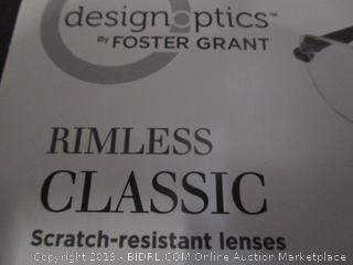 DesignOptics by Foster Grant - Reading Glasses +1.50