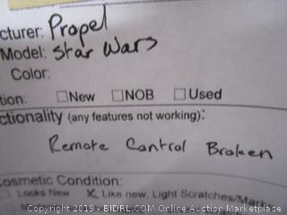 Propel Star Wars Tie Fighter Quadcopter
