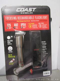 Coast Focusing Rechargeable Flashlight