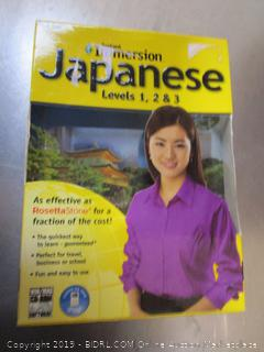 Instant Immersion Japanese Language CD's