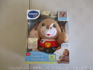 VTECH CUDDLE & SING PUPPY