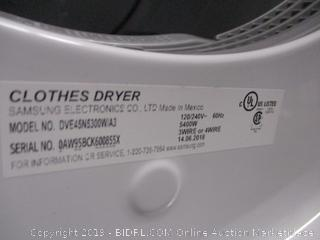 Samsung Dryer (Please Preview)