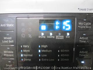 Samsung Washer (Powers On)