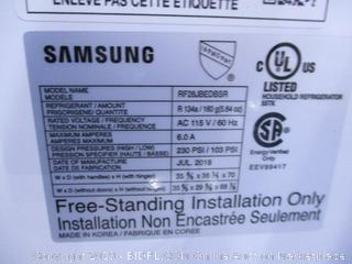 Samsung Refrigerator (Works Great) (Stays Refrigerated)