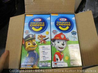 Kraft Macaroni & Cheese Paw Patrol Shapes