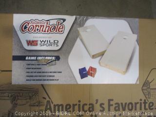 Authentic Cornhole Tailgate Game