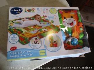 Vtech Baby Giggle & Grow Jungle Playmat