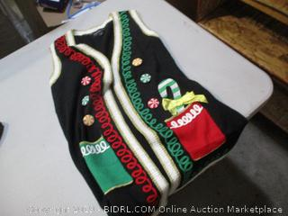 Christmas Vest Size M