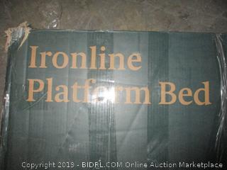 ironline platform bed