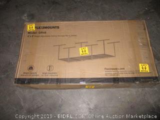 height adjustable ceiling storage rack
