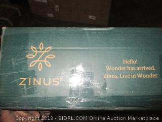 zinus bed bench