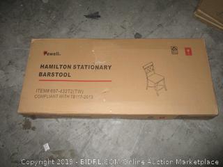 hamilton stationary barstool
