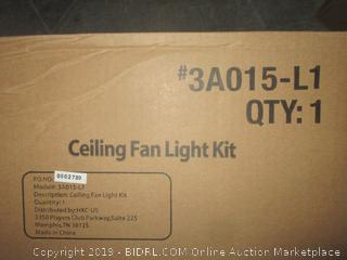 ceiling fan light kit - sealed