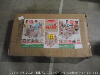 fresh mart grocery store play set