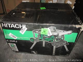 Hitachi job site table saw