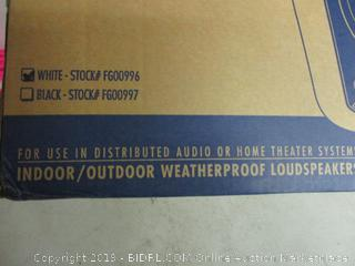 indoor/outdoor weatherproof loudspeaker