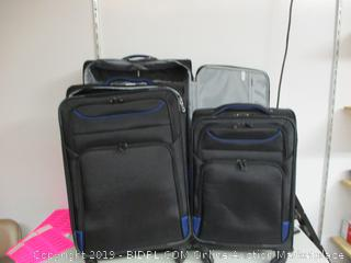 Coolife luggage 3 pc suitcases set