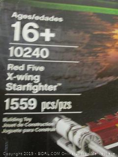 LEGO Star Wars Red Five X-wing Starfighter set