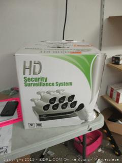 HD Security Surveillance System - powers on