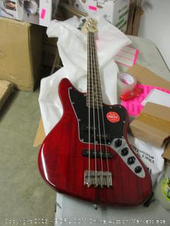 Fender jaguar bass electric guitar