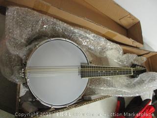 Pyle 8-string mandolin-banjo hybrid rosewood fretboard