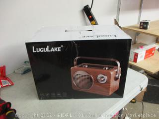 LuguLake radio/speaker item Powers on!!!
