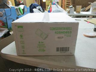 conserveware hinged container