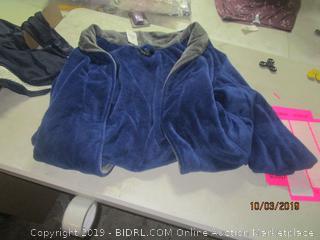 L/XL blue sweater