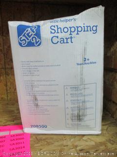 little helper's toy shopping cart