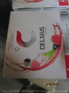 celsius live fit 4 pack beverage cases