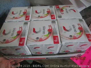 celsius live fit 4 pack beverage cases